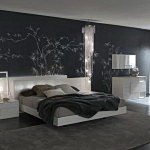 Black bedroom designs ideas