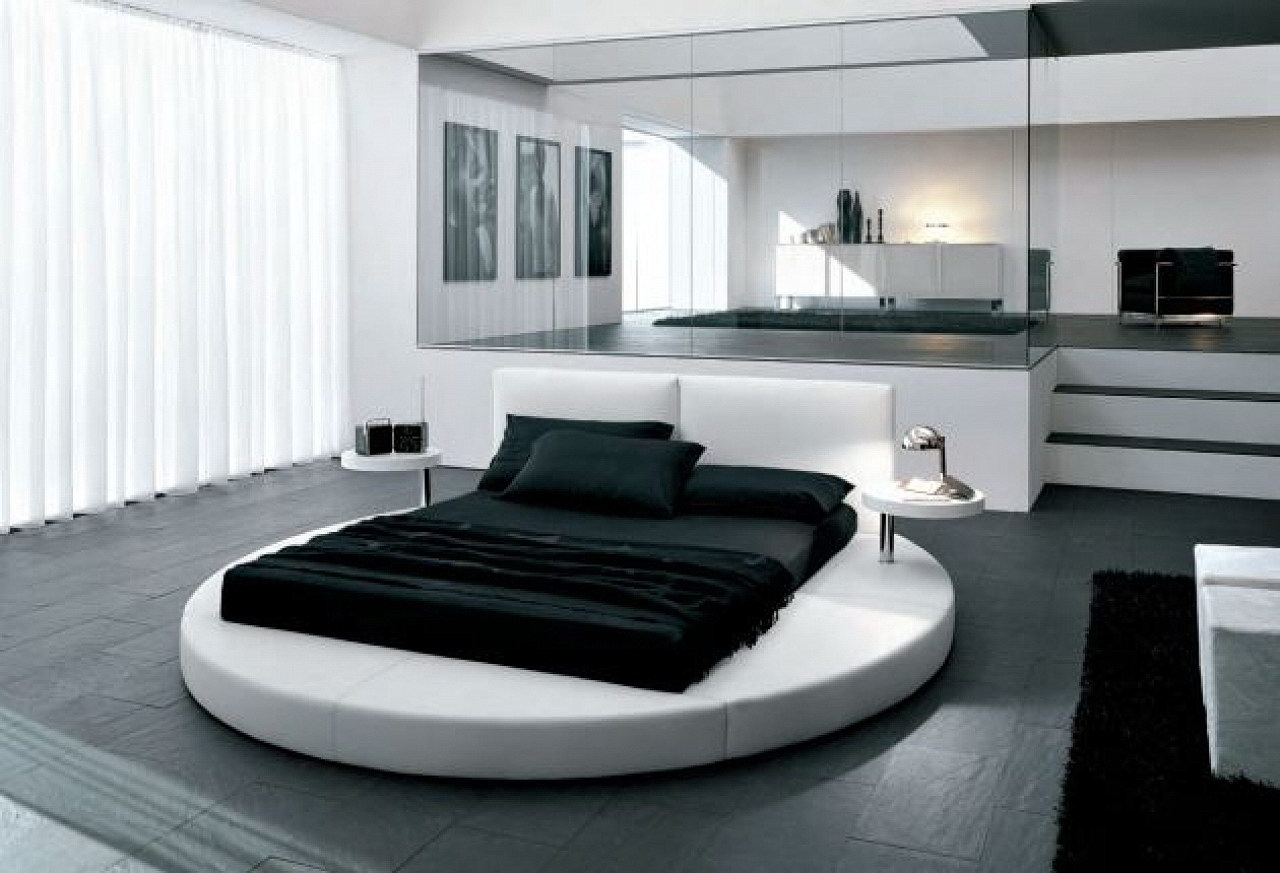 Black and White Bedroom Design Suggestions