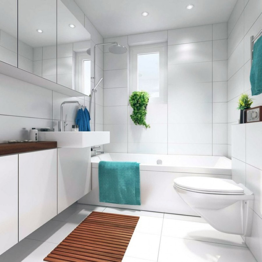 Bathroom Ideas: Optimal Usage Of Space And Items For Small Bathroom Ideas