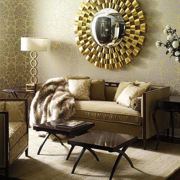 Some living room wall decor mirrors ideas 21 photo - Home decorating ideas living room walls ...