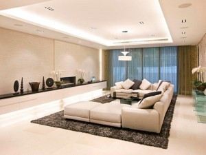 contemporary living room lighting ideas