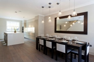 dining room mirrors modern