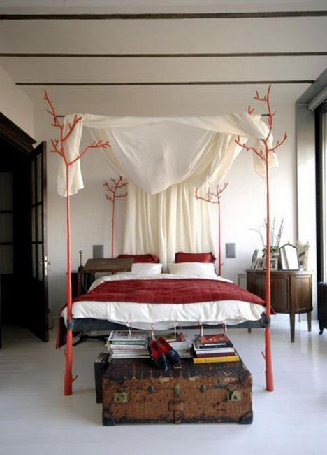 30 unique bed designs and creative bedroom decorating for Unique bedroom designs