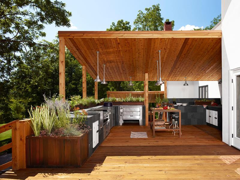 47 Outdoor Kitchen Designs and Ideas-46