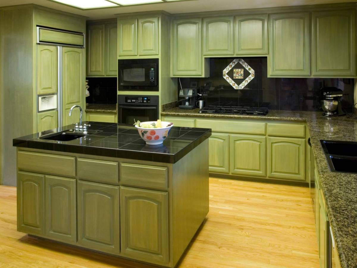 painted kitchen cabinets ideas 2246
