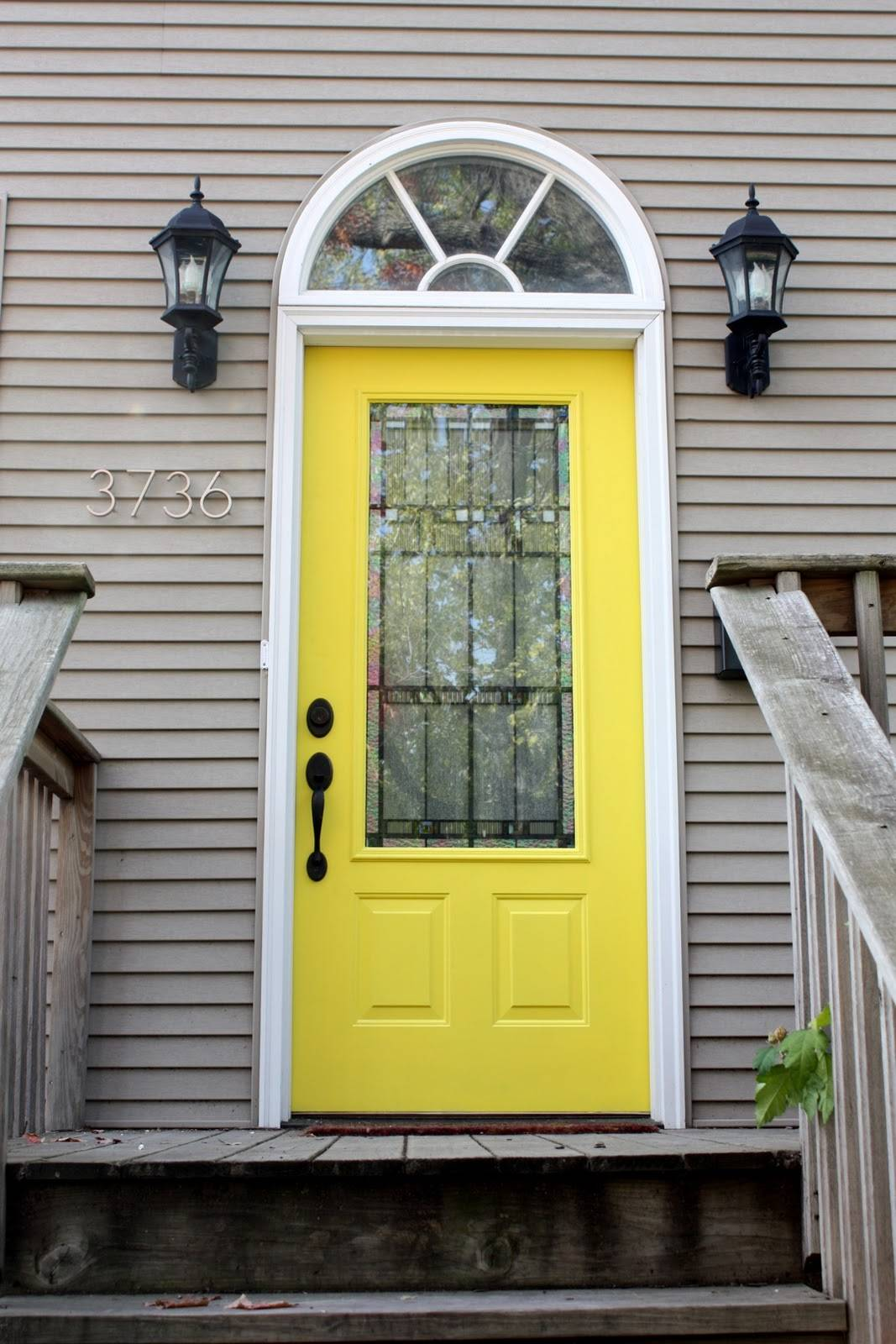 amazing front door light fixtures with yellow door