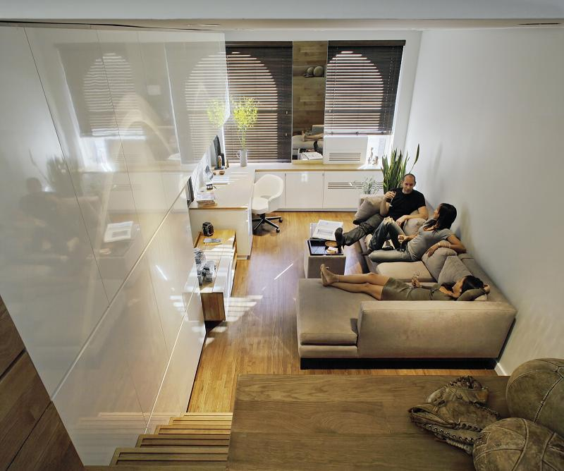 Space Saving Apartment Layout: How to Live Large in a 500 sq ft (46 sq m)