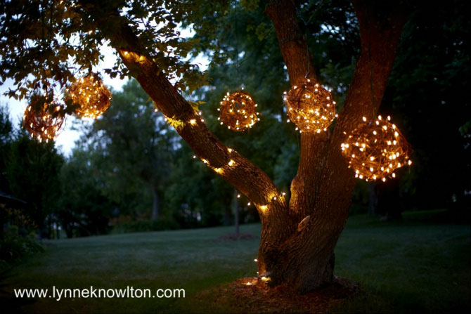 Grapevine Lighting Balls