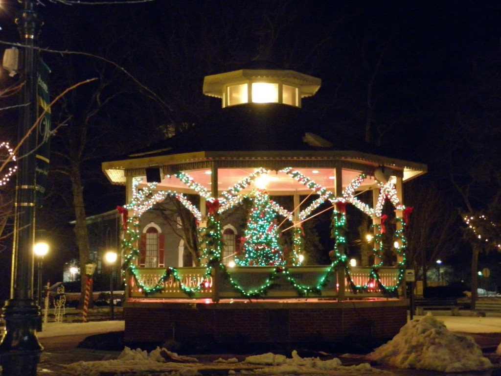 Patio gazebo lighting