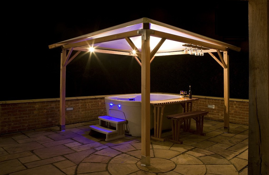 solar gazebo lighting