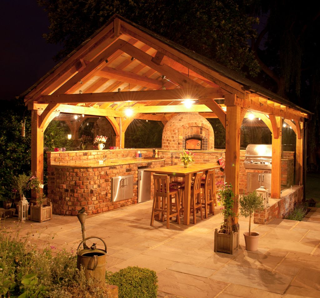 Gazebo lighting fixtures