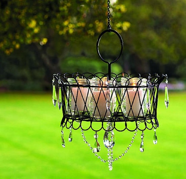gazebo lighting chandelier