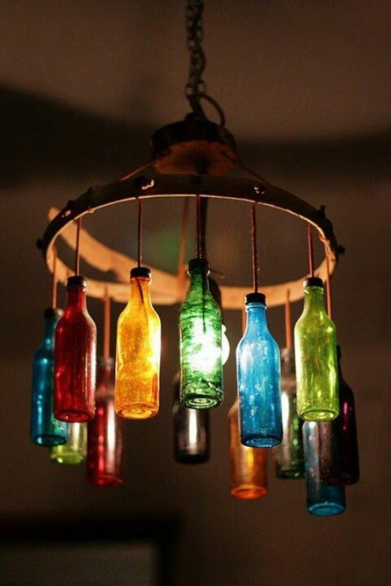 DIY gazebo lighting chandelier