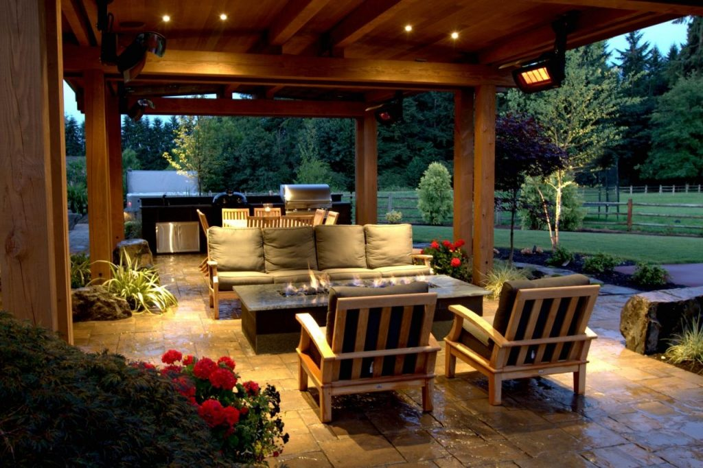 gazebo lighting ideas