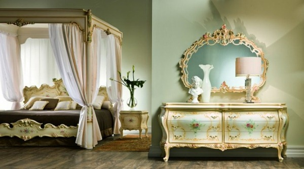 great ambiance in baroque style