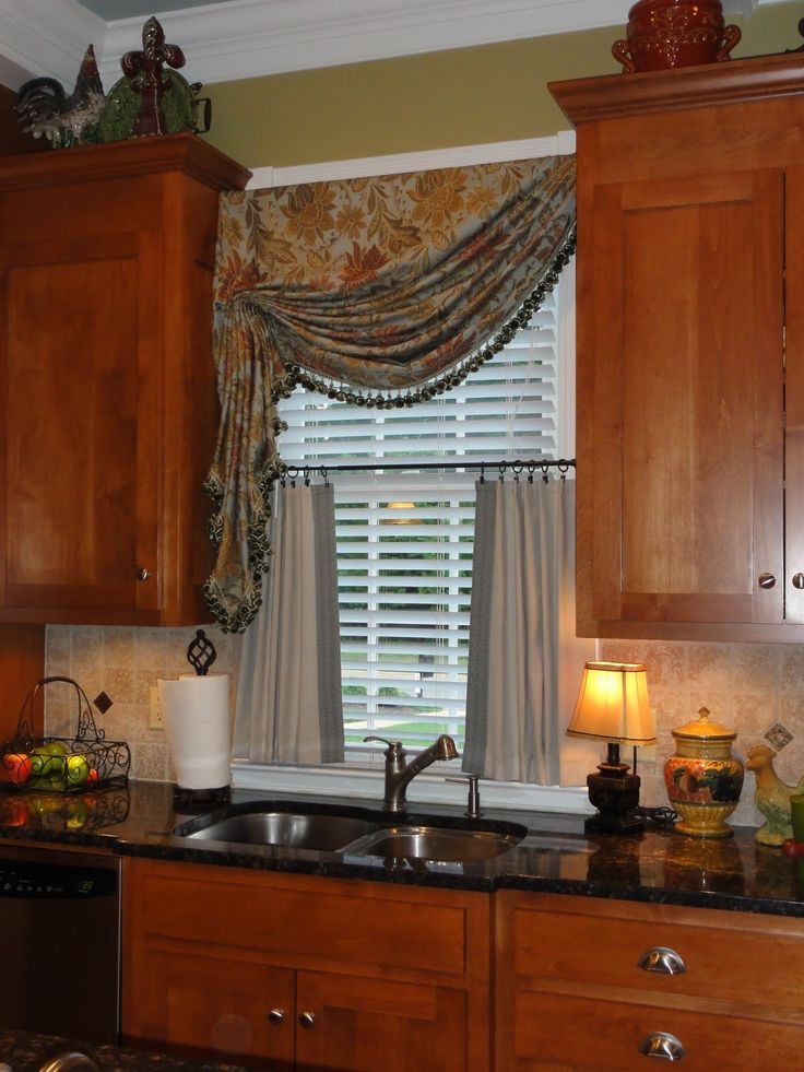 01 - kitchen curtains ideas