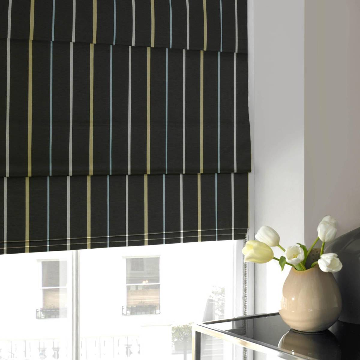 extra wide roman blinds made to measure
