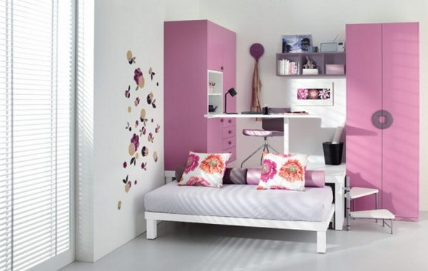 teenage girl bedroom paint designs